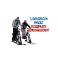 SnowScoot Pack complet