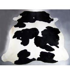 Peau vache exotique noir et blache 200x170cm (~4m²)
