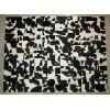 Peau de décoration patchwork choco 150x200cm