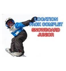 Snowboard+Chaussures juniors