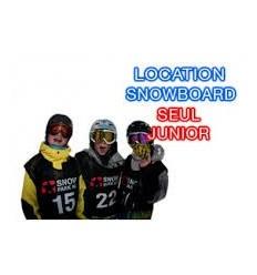 Snowboard juniors