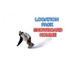 Snowboard homme