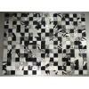 Peau de décoration patchwork zèbrè 150x200 cm