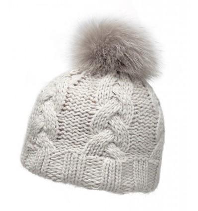 001P - Bonnet laine et fourrure