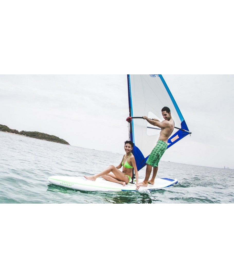 Stand Up Paddle Avec Voile Windsup 11 6 X30 Maison Joseph