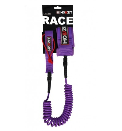 HOWZIT - LEASH PADDLE 9' / 8mm - VIOLET