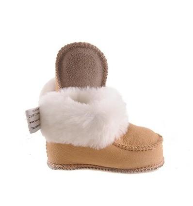 Chaussons mouton enfant