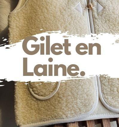Gilets en laine