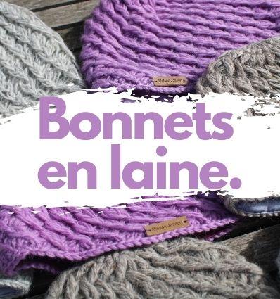 Bonnets en laine